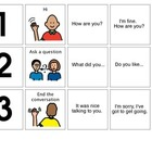 Conversation Practice (Scripts for Social Skills Classes)