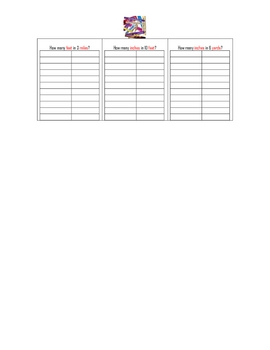 Convert Measurement Worksheet - Linear Measurement