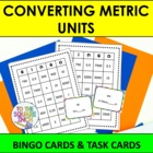 Converting Metric Units  Bingo and Task Cards, Common Core
