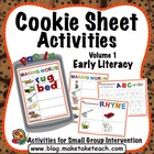 Cookie Sheet Challenge Volume 1: ABC Order, Rhyme, Making Words