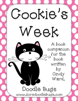 Cookie's Week: Mini Book Unit, Literacy & Reading Centers