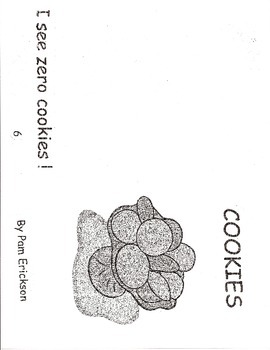 Cookies- a math guided reading book