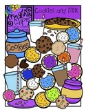 Cookies and Milk {Creative Clips Digital Clipart}