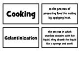 Cooking Methods Matching Game