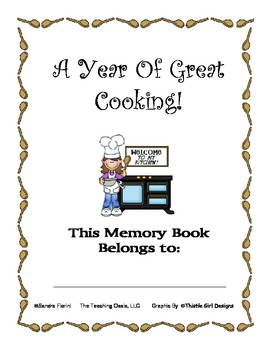 Cooking Themed Memory Book
