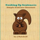 Cooking Up Sentences - Simple Sentence Structure