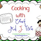 Cooking with Chef Ad J. Tive
