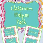 Cool Classroom Helper Set