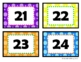 Cool Spots Number Labels 21-40