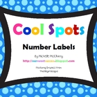 Cool Spots Number Labels
