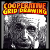 Cooperative Coloring Grid - Albert Einstein