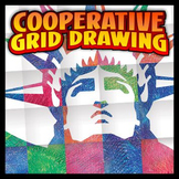 Cooperative Coloring Grid - Liberty