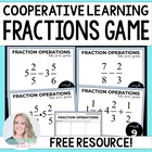 Cooperative Learning Fraction Operations Game
