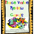 Cooperative Learning Place Value Cards