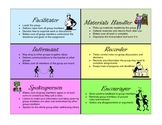 Cooperative Learning Student Role Cards