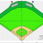 Coordinate Graphing (Baseball Field in 3-D)
