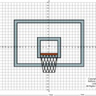Coordinate Graphing (Basketball Backboard / March / Road t