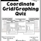 Coordinate Graphing Quiz