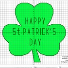 Coordinate Graphing (Shamrock / St. Patrick's Day / Irish