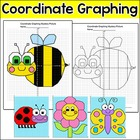 Coordinate Graphing Spring Mystery Pictures - Ordered pair