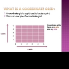 Coordinate Grids