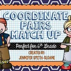 Coordinate Pair Graphing Match-Up
