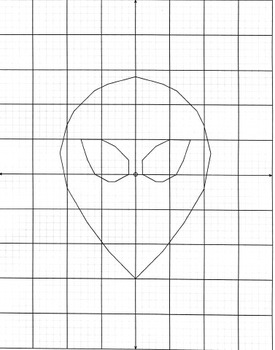 Coordinate Plane Pictures (Alien)