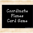 Coordinate Plane/Ordered Pairs Card Game