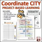 Coordinates City: Creative Math Project Activity