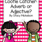 Cootie Catcher - Adverb or Adjective?