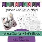 Cootie Catcher Fortune Teller Comecocos GUSTAR + INFINITIVES