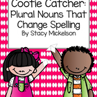 Cootie Catcher - Irregular Plurals