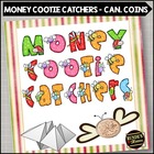 Cootie Catcher Money - Canadian Coin Version