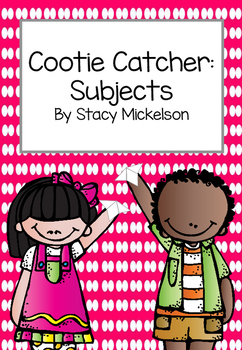 Cootie Catcher - Subjects