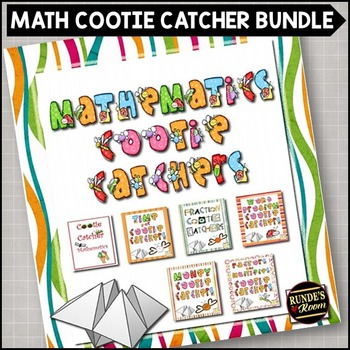 Cootie Catchers for Mathematics