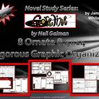 Coraline Neil Gaiman Graphic Organizers 8.5x14 Legal Size