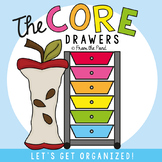 Core Drawers for Kindergarten - Organize Your Teaching