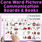Core Words to Go - Picture Communication AAC autism