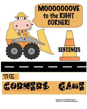 Corners Game-Sentences