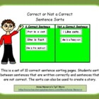 Correct Sentence Sort - Capitalization and Punctuation