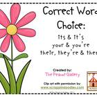 Correct Word Choice (Easily Confused Words)