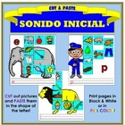 Corta y Pega: Sonido Inicial (Cut & Paste: Beginning Sound