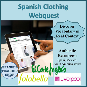 Corte Ingles Clothing Webquest