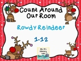 Count Around Our Room  {Christmas-Reindeer}