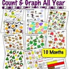 Count &amp; Graph ALL YEAR  - Common Core Measurement &amp; Data