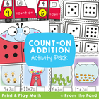 Count On - Math Packet for Teaching Addition Counting On