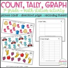 Count, Tally, Graph! - A first grade math station activity