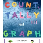 Count, Tally &amp; Graph ---spring rain {CC aligned}