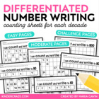 Count and Write to 100 (one decade at a time)