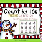 Count by 10s 10-120 Christmas Edition FREE